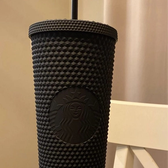 Starbucks Matte Black Studded Tumbler